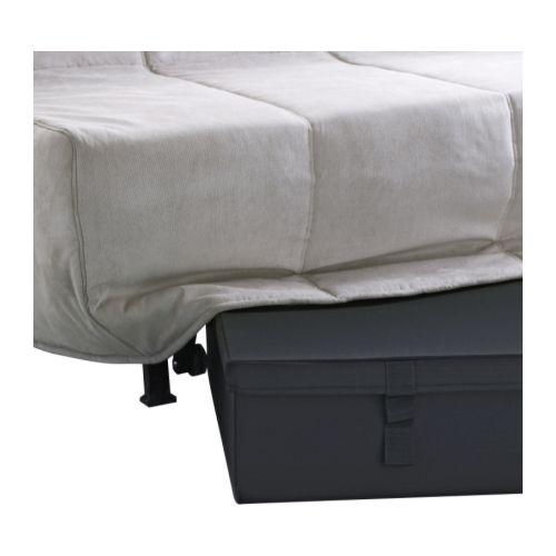LYCKSELE caja almacenaje sofá cama 2 plazas