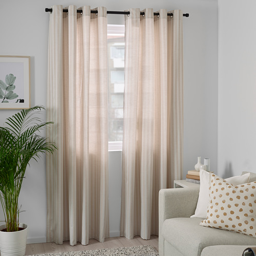 MAJRID curtains, 1 pair