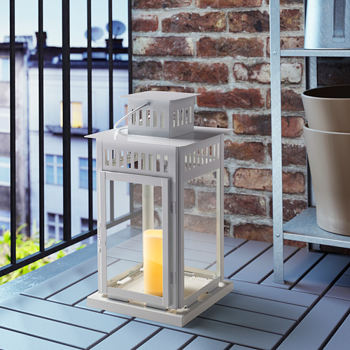 GODAFTON vela grande LED, interior/exterior