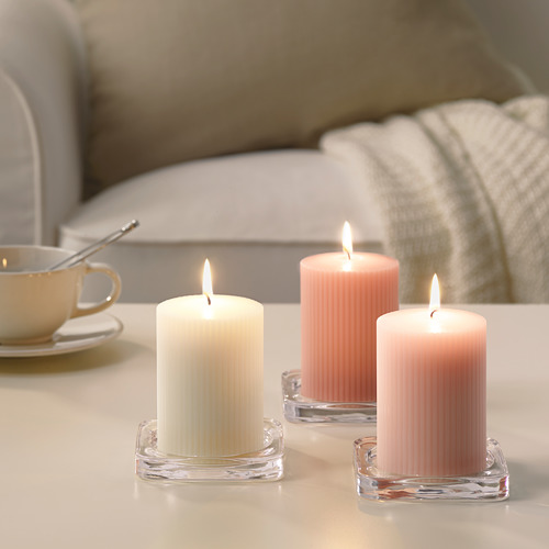 BLOMDOFT vela grande perfumada