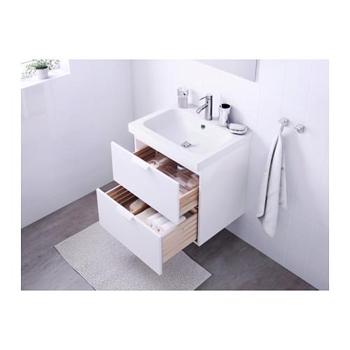 ODENSVIK/GODMORGON armario para lavamanos con 2 gavetas, juego de 2
