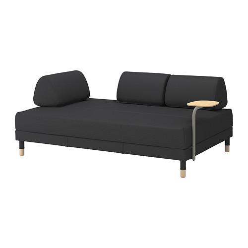 FLOTTEBO sofá cama+mesa auxiliar