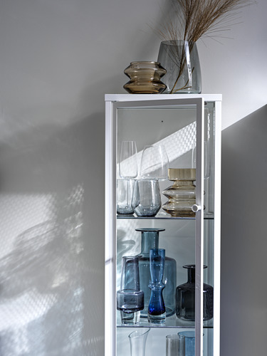 BAGGEBO cabinet with glass doors