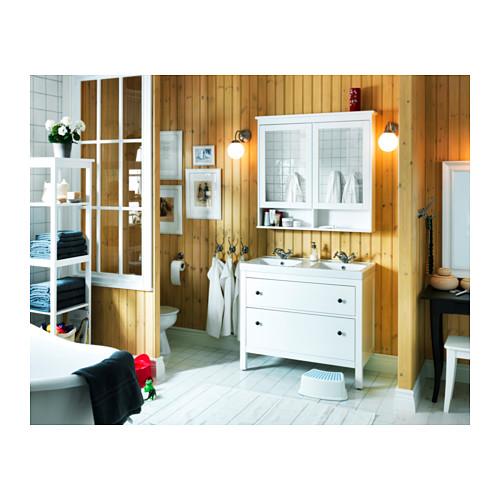 HEMNES armario de espejo con 2 puertas