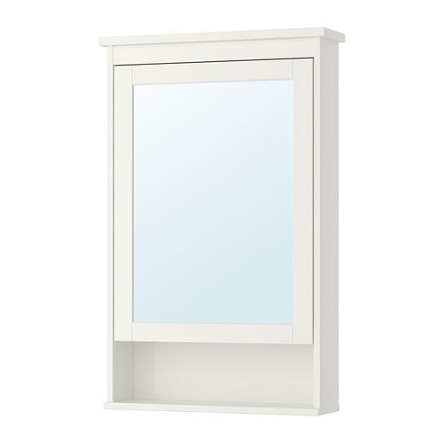 HEMNES armario de espejo con 1 puerta