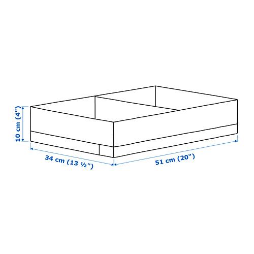 STUK caja con compartimientos