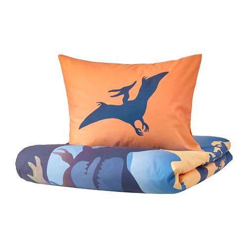 JÄTTELIK duvet cover and pillowcase(s)