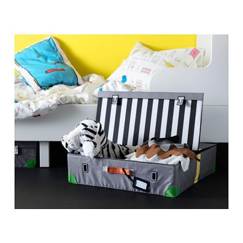 FLYTTBAR caja de almacenaje para cama