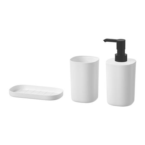 STORAVAN 3-piece bathroom set