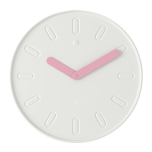 "SLIPSTEN reloj de pared, 13 ¾"" de diámetro"