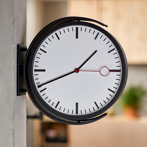 """BISSING reloj de pared, 11"""" de diámetro"""