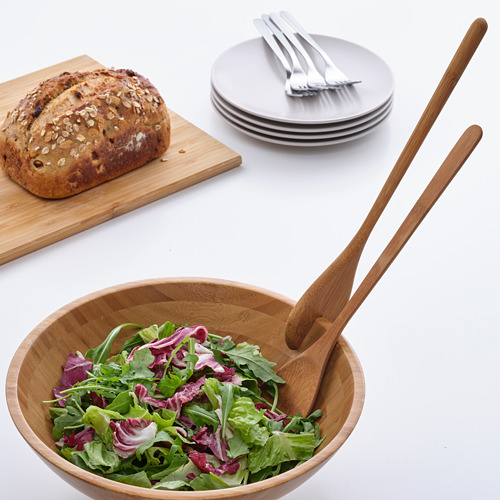 GRÖNSAKER cubiertos ensalada, 2 piezas