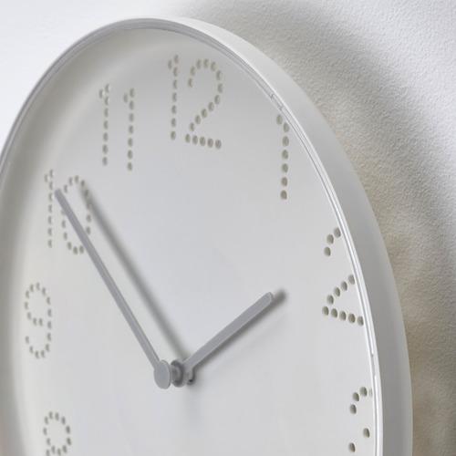 "TROMMA reloj de pared, 9 ¾"" de diámetro"
