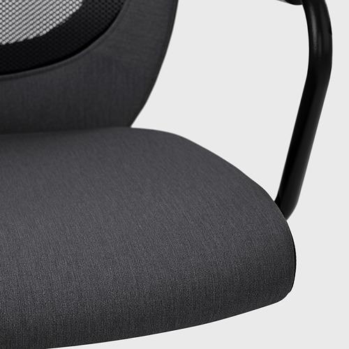 FLINTAN/NOMINELL silla de trabajo con reposabrazos