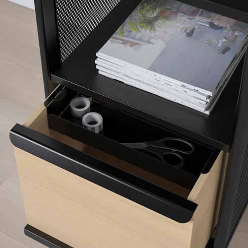 BEKANT módulo de almacenaje con patas