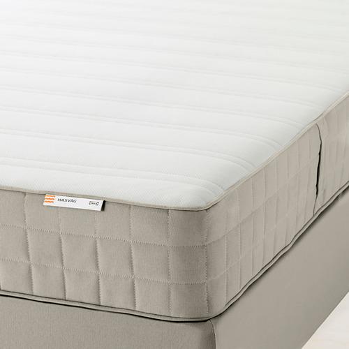HASVÅG mattress de resortes, Full.