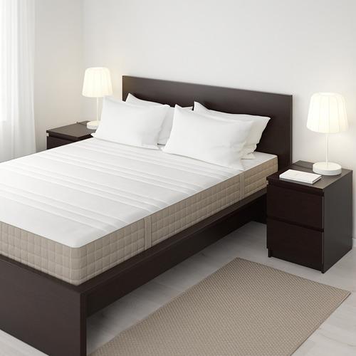 HAUGESUND mattress de resortes, King.