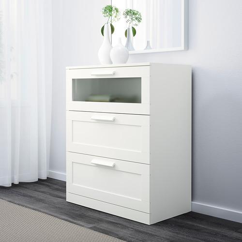 BRIMNES 3-drawer chest