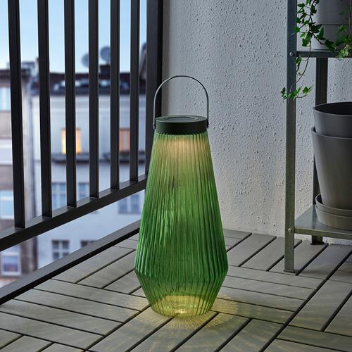 SOLVINDEN LED solar-powered floor lamp