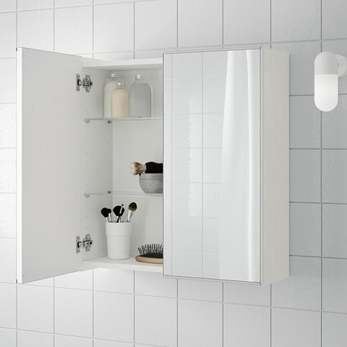LILLÅNGEN armario de espejo con 2 puertas