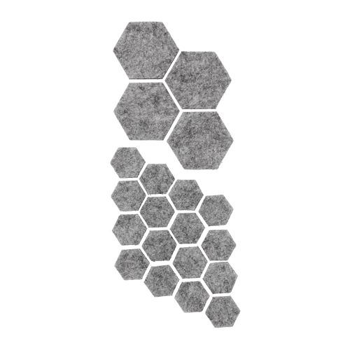 FIXA protector autoadhesivo para mesas y sillas, juego de 20