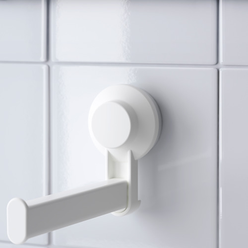 TISKEN soporte papel higiénico con ventosa