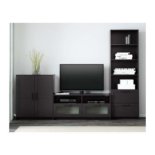 BRIMNES combinación de almacenaje para TV