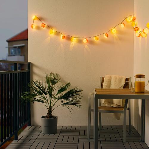 SOLVINDEN cadena iluminación LED+24 luces