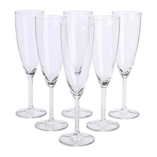 SVALKA copa de champán, 6 piezas