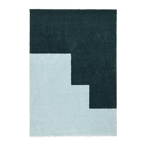 """KONGSTRUP alfombra, pelo largo, 4' 4""""x6' 5"""""""
