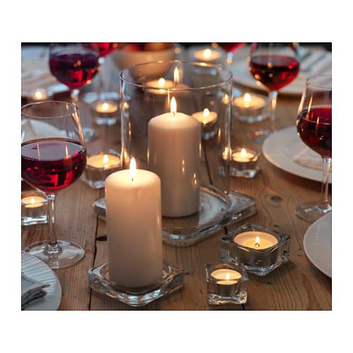 GLASIG plato para velas