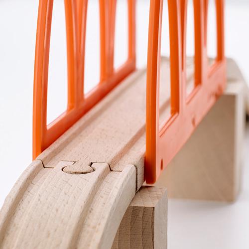LILLABO juego puente para tren, 5pz