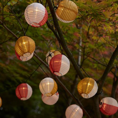 SOLVINDEN LED string light with 24 lights