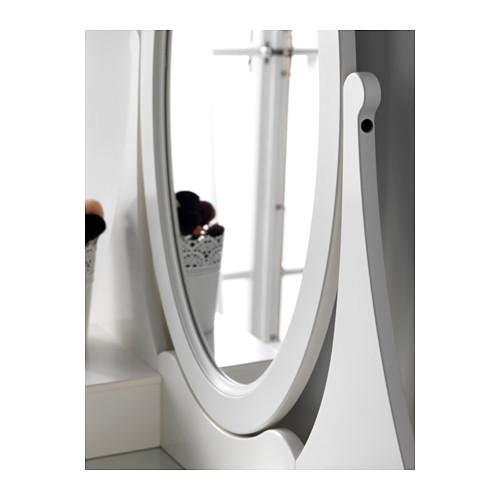 """HEMNES tocador con espejo,39 3/8 """"x19 5/8 """"x62 5/8 """""""