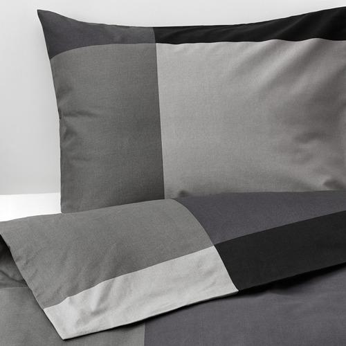 BRUNKRISSLA duvet cover and pillowcase(s) 152 threads