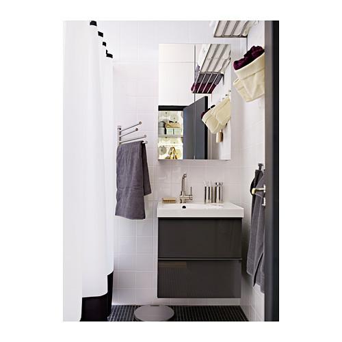GODMORGON armario de espejo con 2 puertas