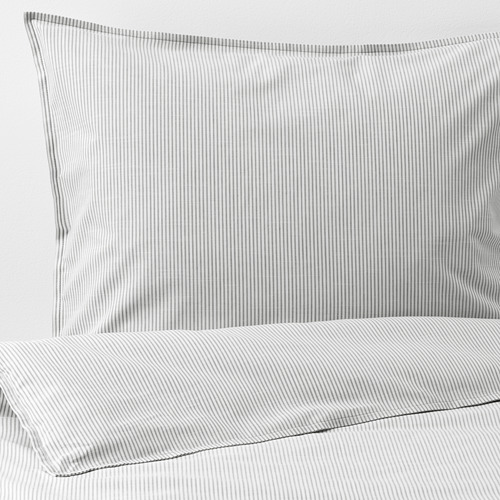 BERGPALM duvet cover and pillowcase(s) 118 threads