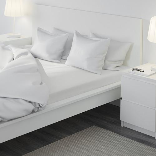 DVALA sábana ajustable, 152 hilos, queen