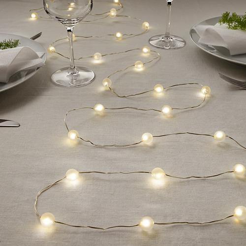SNÖYRA cadena iluminación LED+40 bombillas