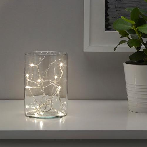 LEDFYR cadena iluminación LED+12 luces