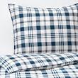 SPIKVALLMO duvet cover and pillowcase(s)