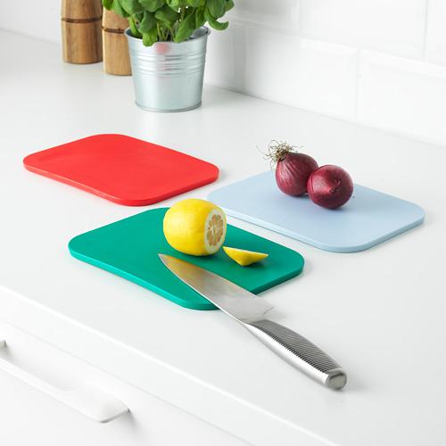 IKEA 365+ tabla de cortar, 3 piezas