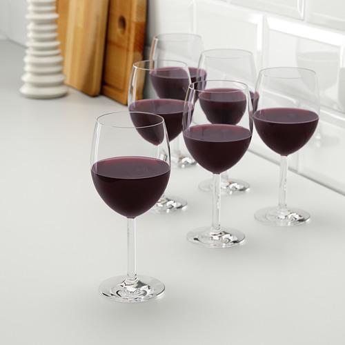 SVALKA copa para vino, 6 piezas