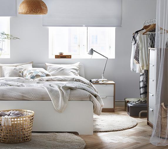 Tu dormitorio completo ASKVOLL por menos de $350
