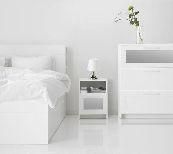 Tu dormitorio completo BRIMNES por menos de $740