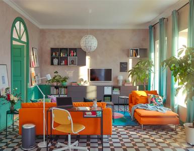 En tu casa, para gustos... ¡mil colores!