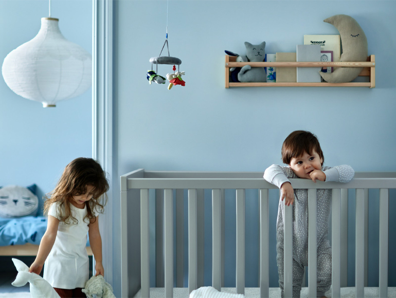 Welcome, the world awaits you. Your baby's room